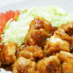 ご飯すすむ鶏モモ肉のこってり焼き