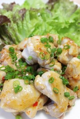 鶏もも肉マヨネーズ焼き ゆずこしょう風味