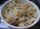 オイスターソースで中華風炊き込みご飯