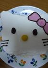 簡単☆キティケーキ☆^・ω・^☆