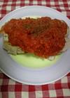 超簡単トマトソース パリパリチキン!