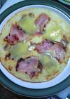 ベーコンとゴーダチーズのパンネクック