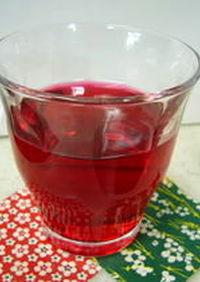 季節限定✿赤しそジュース