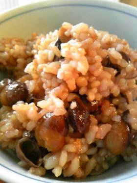 黒豆玄米ごはん
