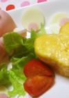 お弁当に(✪‿ ✪♡恋するハートの卵焼き