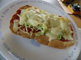 食パンdeピザパン