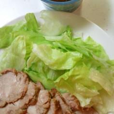 圧力なべで簡単煮豚
