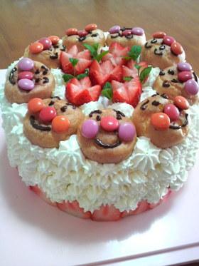 アンパンマンいっぱいケーキ☆