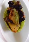 お弁当の緑に。アボガドの海苔和え