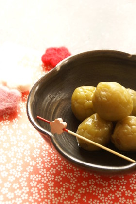 梅シロップ後の実で✿ 梅シロさん簡単煮梅