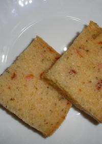 HBで、オレガノとドライトマトのパン