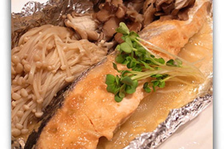 焼き 鮭 味噌 ホイル