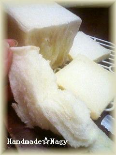 耳まで白い☆ふわふわしっとり角食白パン