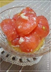 トマトのナムル風