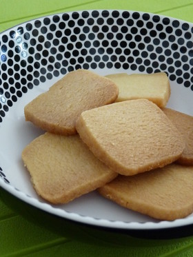 マーガリン・小麦粉・砂糖のみ簡単サブレ