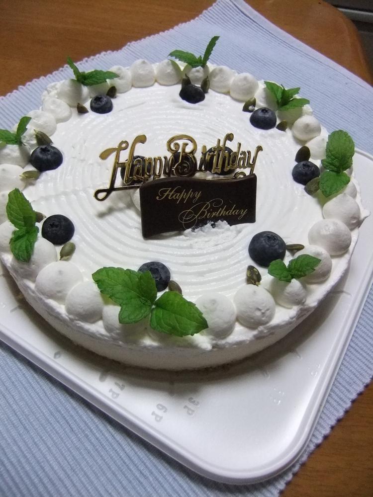 高原のレアチーズケーキ