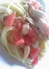 サッパリ冷製パスタ★トマト&チキン