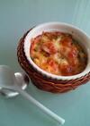 アボカドとホタテのチーズ焼き