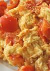 本格中華の卵とトマトの炒めもの