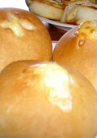 お昼とおやつに調理パン(2種)