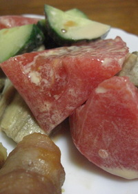 ☆夏野菜のマヨぽんサラダ☆