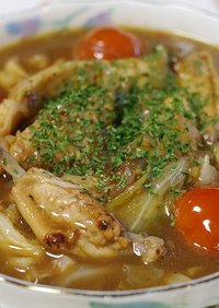 鶏スペアリブのタマリンドスープ
