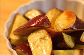 サツマイモのローストで♪ハチミツの大学芋