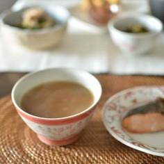 素朴な故郷の味❤茶がゆ