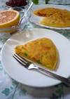 ◆朝食にお惣菜パンケーキ◆