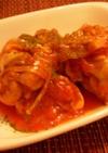 ☆鶏手羽元のケチャップナポリタン風煮☆