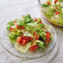 目指せデリ風!レタスとトマトのサラダ