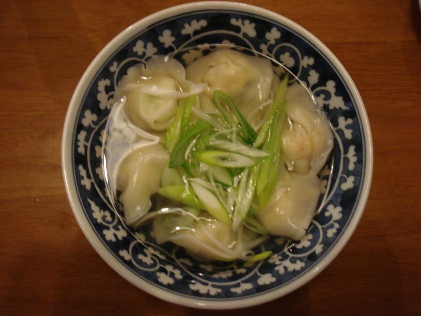 シーマさんのスープで★えび入りスープ餃子