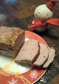 豚ひき肉の田舎風パテ パテドカンパーニュ
