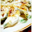 簡単手作り羽つきニラ餃子 (焼き方付き)