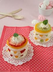 簡単!食パンフルーツケーキ♪の写真