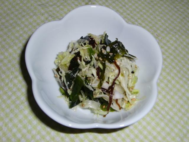 夏のお通じの友★キャベツダイエットサラダ