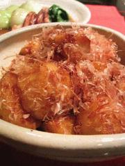 おかかいっぱい里芋の写真