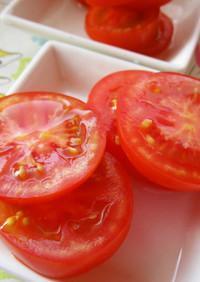 トマト(´∀`*)で酢