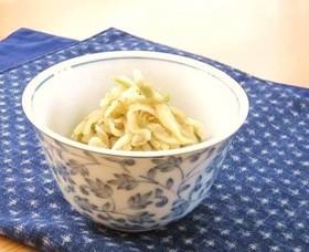 ∮ 切干大根とザーサイの炒め煮 ∮