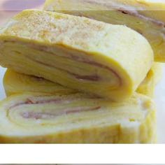 CONJU韓国料理♪チーズベーコン卵巻き