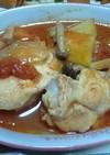 圧力鍋で鶏のトマトソース煮