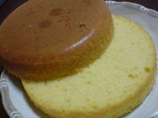 スポンジケーキ ホットケーキミックス 炊飯器