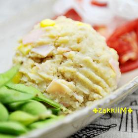冷凍コロッケで簡単☆ポテトサラダ