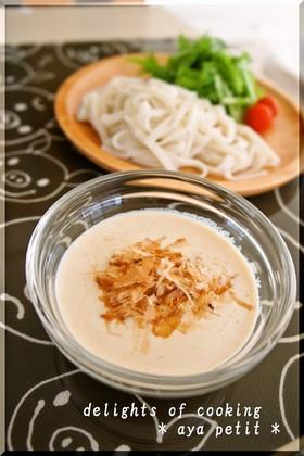 ☆素麺・うどんに基本の豆乳味噌だれ☆