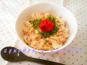 ✿朝食・お弁当に✿梅マヨおかかごはん✿