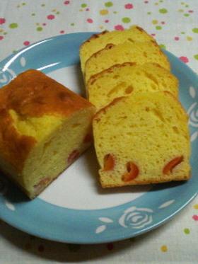 簡単まるごとさくらんぼのパウンドケーキ♪