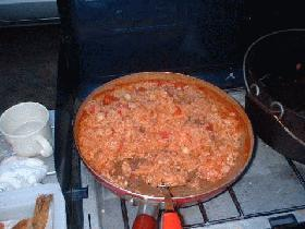 シーフードトマトリゾット