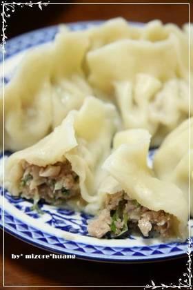 本格台湾のプリプリ水餃子★豚キャベツ味