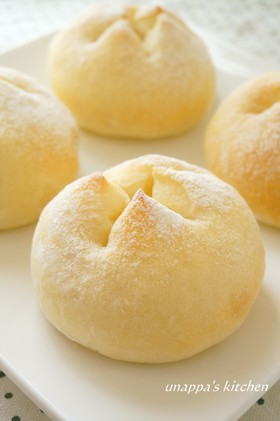 手捏ね☆ふわふわ!とろ~りチーズパン