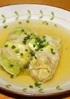 白菜のロールスープ